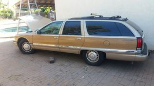Crashed 96 Buick road master estate wagon with lt1 corvette 350 motor. Low miles for Sale in El Cajon, CA