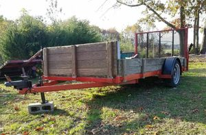 Utility trailer with ramp & registration for Sale in NJ, US