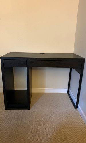 IKEA desk black for Sale in Fremont, CA