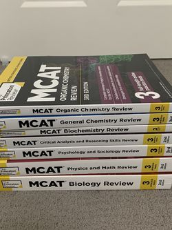Princeton Review MCAT Prep books for Sale in Fremont,  CA