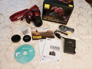 Nikon D3300 DSLR Camera for Sale in West Covina, CA