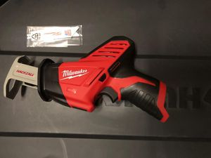 Milwaukee M12 hackzall ( tool only) for Sale in Kissimmee, FL
