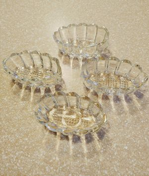 4 PRINCESS HOUSE 438 Crystal Buffet Servers Serving Spoon / Fork Holders for Sale in Peoria, AZ