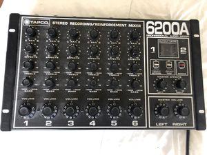 TAPCO 6200A Pro Audio Mixer for Sale in San Diego, CA