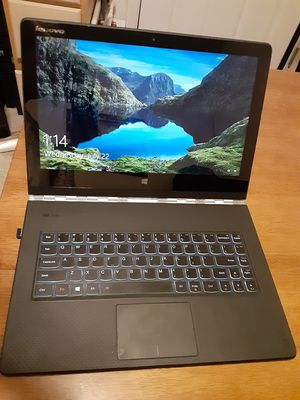 mplete Lenovo Yoga Pro 3 1370 Laptop/Tablet w/ Windows 10 Professional Installed for Sale in Meridian, ID