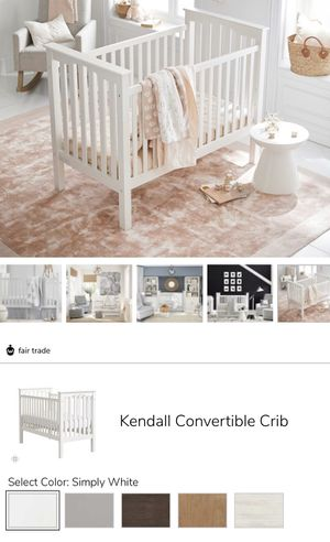 Pottery Bard- Kendall Crib PLUS More... for Sale in East Wenatchee, WA