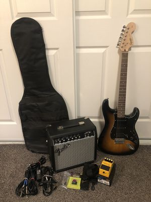 Electric Guitar w/ Amp for Sale in Irwindale, CA