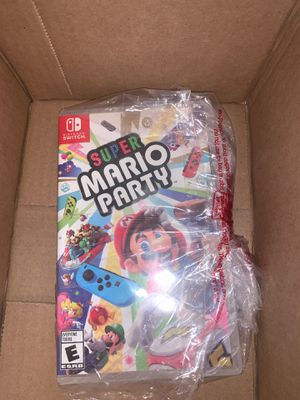 Mario party nintendo switch game for Sale in Ontario, CA