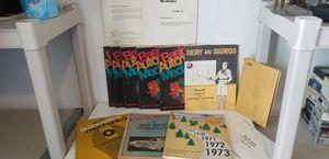 Old Basic Automotive Mechanics Book Set & 1970s Chevrolet Materials for Sale in Little Elm, TX