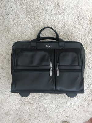 Leather rolling laptop bag for Sale in Ashburn, VA