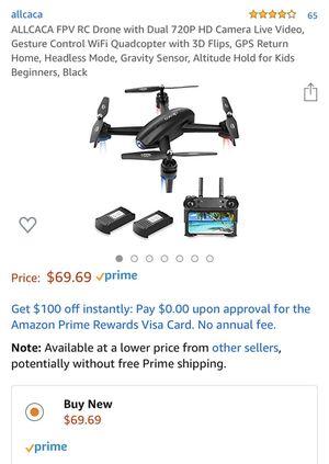 Mini drone 720p dual camera. for Sale in Las Vegas, NV