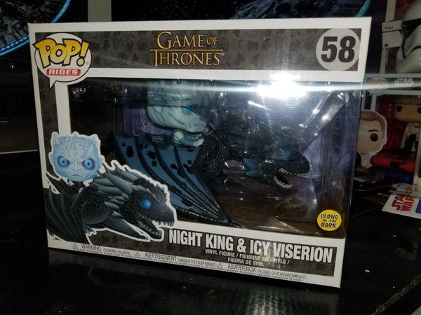 Game of Thrones night King Dragon Funko Pop