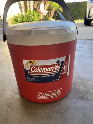 Coleman 12 cans party circle cooler - holds cold for 12hrs! for Sale in Huntington Beach, CA