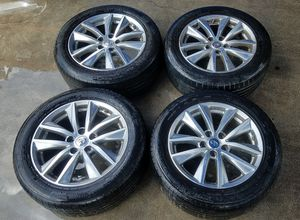 """2014-2017 INFINITI Q50 17""""INCH OEM WHEELS W/ TIRES SET OF 4 for Sale in Fort Lauderdale, FL"""