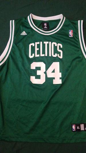 Adidas Youth XL Boston Celtics Jersey Pierce 18/20 for Sale in Hollywood, FL