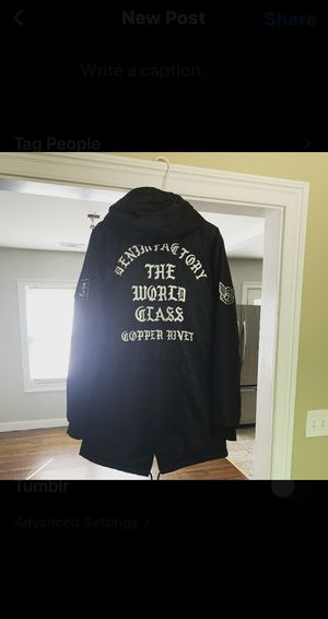 Men Parka Coat *sz Men L* for Sale in Dunwoody, GA
