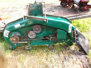 "YARD - MAN TRACTOR LAWNMOWER DECK . QUICK RELEASE . MTD : 46""INCH CUT for Sale in Penhook, VA"