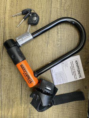 Kryptonite bike lock for Sale in San Francisco, CA