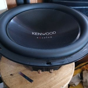 Kenwood 12 Inch Compitition Subwoofer for Sale in Santa Ana, CA
