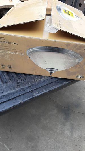 Flush mount light fixture brand new for Sale in Rialto, CA