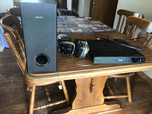 Phillips DVD player and surroundsound for Sale in Wadsworth, OH