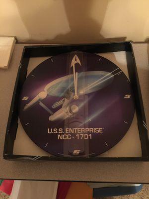 "Star Trek U.S.S. Enterprise Clock 13.5"" for Sale in Murfreesboro, TN"