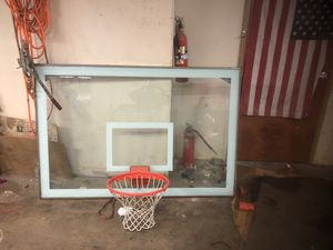 72 inch basketball hoop from a gym for Sale in Bethel Park, PA