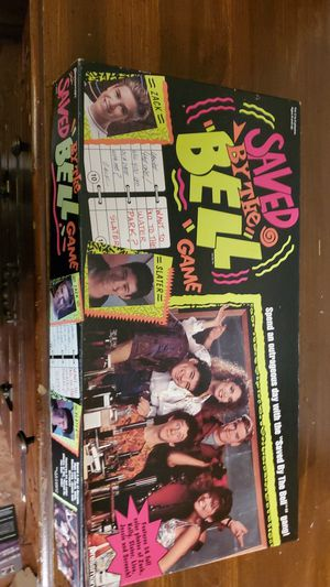 (Saved By The Bell, board game) 1992-Pressman Toy Corporation for Sale in Medford, MA