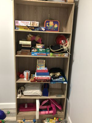 Shelving unit wood! for Sale in North Bethesda, MD