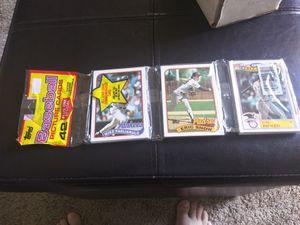 1989 topps baseball cards for Sale in Murfreesboro, TN