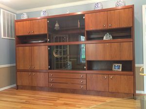 Rosewood wall unit. for Sale in Wading River, NY