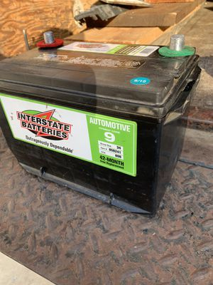 Interstate battery in good condition just selling car for Sale in Claremont, CA