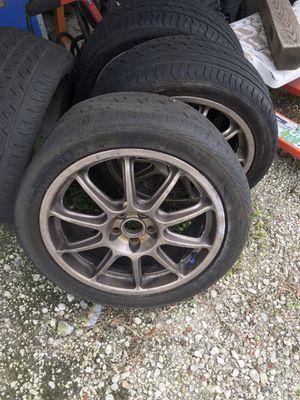 "OZ Racing 17"" 5x100 OEM Subaru wheels for Sale in Clermont, FL"