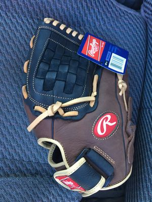 Baseball gloves and ball New. for Sale in Chino, CA