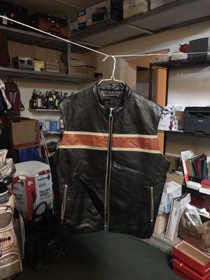 Leather Motorcycle Vest for Sale in Encinitas, CA