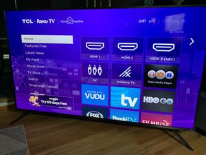 """TCL 75"""" 6 Series 4K HDR Smart Roku TV for Sale in Millvale, PA"""