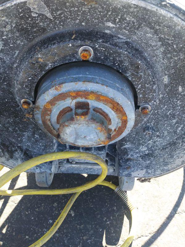 Clarke. CFP PRO 17 industrial/scrubber/sander (as is)