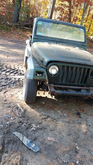 96 jeep wrangler parts car for Sale in Halifax, MA