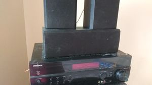 Insignia receiver and speakers for Sale in Minneapolis, MN