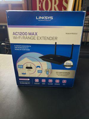 Linksys AC1200 Wi-Fi Range Extender Model RE6500 for Sale in Darien, IL