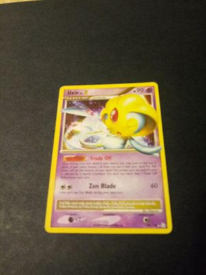 Uxie pokemon cards for Sale in Chicago, IL