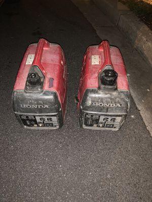2 Honda eu2000s for Sale in Oxon Hill, MD