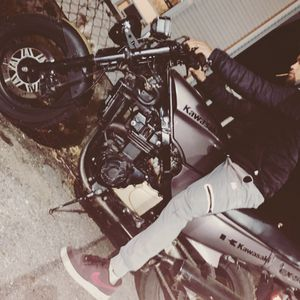 Motorcycle Kawasaki Ninja Retro Sports Bike for Sale in Waltham, MA