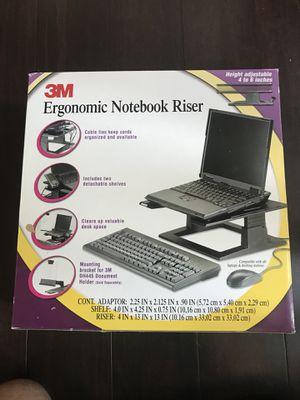 Ergonomic Notebook Riser for Sale in Chicago, IL