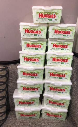 15 of Huggies wipes. Please see all the pictures and read the description for Sale in Alexandria, VA