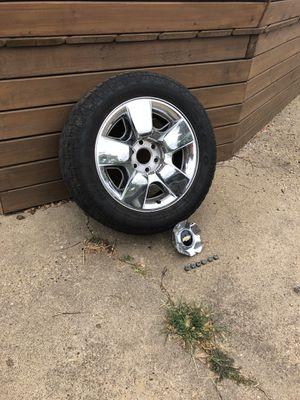 """20"""" tire and rim - Chevrolet Silverado Factory for Sale in Dallas, TX"""