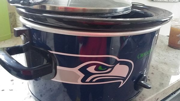 Seahawks Crockpot. Brand new.