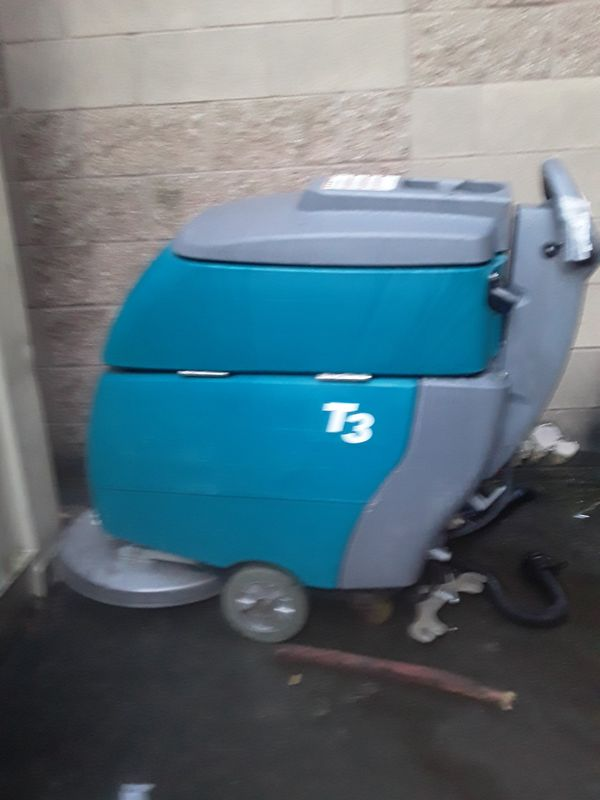 "Tennant T3 20"" walk behind floor scrubber"