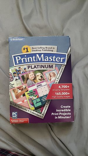 PrintMaster Software for Sale in Pawtucket, RI