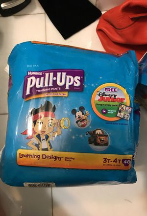Huggies pull-ups 3t 4t for Sale in Brooklyn, NY